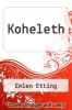 cover of Koheleth