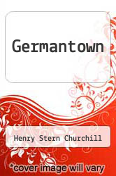 Cover of Germantown  (ISBN 978-1258628550)