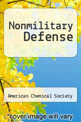 Cover of Nonmilitary Defense  (ISBN 978-1258685706)