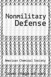 Cover of Nonmilitary Defense  (ISBN 978-1258692186)