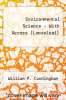 cover of Combo: Loose Leaf Environmental Science with ConnectPlus Access Card (13th edition)