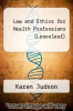 cover of Loose Leaf for Law & Ethics for the Health Professions (7th edition)
