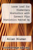 cover of Loose Leaf for Elementary Statistics with Connect Plus Statistics Hosted by ALEKS and SmartBook Access Card (9th edition)
