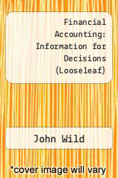 Cover of Loose Leaf for Financial Accounting 8 (ISBN 978-1259664298)