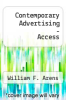 Contemporary Advertising-Access by William F. Arens - ISBN 9781259737848