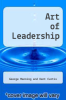 cover of Art of Leadership (6th edition)
