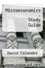 cover of Study Guide to accompany Microeconomics (10th edition)