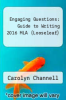 cover of Looseleaf Engaging Questions 2e MLA 2016 UPDATE (2nd edition)