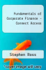 Fundamentals of Corporate Finance - Connect Access by Ross - ISBN 9781264250059