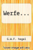 cover of Werfe...