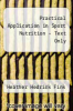 cover of Practical Application in Sport Nutrition - Text Only (5th edition)
