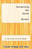 cover of Sustaining the Earth-Access (11th edition)