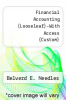 cover of Financial Accounting (Looseleaf)-With Access (Custom) (10th edition)