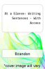 At a Glance: Writing Sentences-With Access by Brandon - ISBN 9781285935256