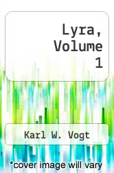Cover of Lyra, Volume 1  (ISBN 978-1286003848)