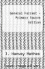cover of General Forrest - Primary Source Edition