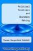 cover of Political Frontiers and Boundary Making