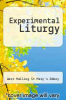 cover of Experimental Liturgy