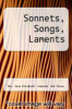 cover of Sonnets, Songs, Laments