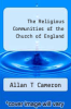 cover of The Religious Communities of the Church of England