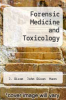 cover of Forensic Medicine and Toxicology