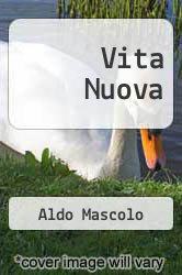 Cover of Vita Nuova EDITIONDESC (ISBN 978-1291666588)