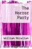 cover of The Horror Party