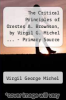 cover of The Critical Principles of Orestes A. Brownson, by Virgil G. Michel ... - Primary Source Edition