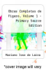 cover of Obras Completas de Figaro, Volume 1 - Primary Source Edition