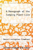 cover of A Monograph of the Jumping Plant-Lice