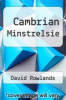 cover of Cambrian Minstrelsie