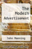 cover of The Modern Advertisement