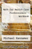 cover of Math for Health Care Professionals - Workbook (2nd edition)