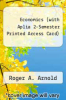 cover of Economics (with Aplia 2-Semester Printed Access Card) (12th edition)