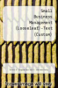 cover of Small Business Management (LL)-Text (Custom)