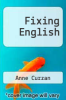cover of Fixing English