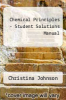 cover of Student Solutions Manual for Chemical Principles (7th edition)