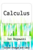 cover of Calculus (3rd edition)