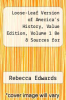 cover of Loose-Leaf Version of America`s History, Value Edition, Volume 1 8e & Sources for America`s History, Volume 1 8e (8th edition)