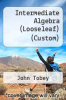 cover of Intermediate Algebra (Looseleaf) (Custom) (3rd edition)