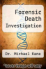 cover of Forensic Death Investigation