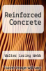 cover of Reinforced Concrete