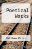 cover of Poetical Works