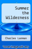 cover of Summer the Wilderness