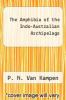 cover of The Amphibia of the Indo-Australian Archipelago