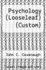 cover of Psychology (LooseLeaf) (Custom) (7th edition)