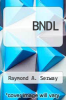 cover of BNDL (9th edition)