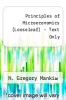cover of Principles of Microeconomics-Text Only (Looseleaf) (8th edition)