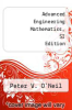 cover of Advanced Engineering Mathematics, SI Edition (8th edition)