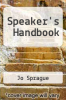 cover of Speaker`s Handbook (12th edition)